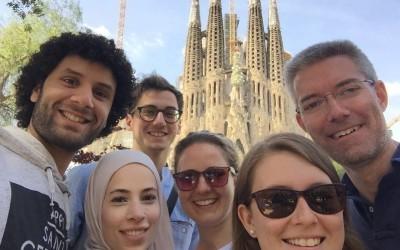 Praxisausflug nach Barcelona